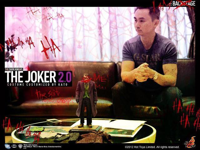 HOT TOYS小丑2.0服裝設計師專訪