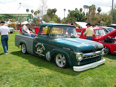 040906 Fabulous Fords 183 (SoCalCarCulture - Over 30 Million Views) Tags: show california park ford car dave truck pickup lindsay f100 1957 forever fabulous fords buena socalcarculture socalcarculturecom