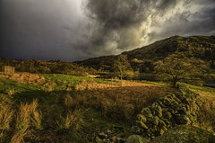 The rain arrives at Rydal (kidda63) Tags: storm day