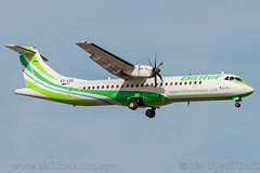 EC-LAD, Binter Canarias, ATR 72-500 (72-212A) - cn 864. (dahlaviation.com) Tags: airplane spain aircraft aviation airplanes tenerife canaryislands spotting aircrafts tfs gcts