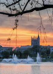 Northwestern University, Evanston, Illinois (McCawley Photos) Tags: sunset university northwestern evanston