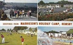 Maddiesons Holiday Camp, Hemsby (trainsandstuff) Tags: vintage postcard pontins holidaycamp hemsby maddiesons