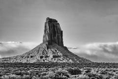 Like a Blade Sticking Out of the Desert (jpmckenna - Denali Bound) Tags: arizona west landscape sandstone desert american highdesert monumentvalley iconic navajotribalpark getoutside