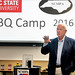 Barbecue historian Bob Garner discusses the differences between styles of cooking during BBQ Camp at NC State.