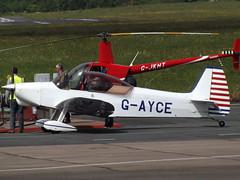 G-AYCE Emeraude (Aircaft @ Gloucestershire Airport By James) Tags: james airport gloucestershire lloyds emeraude egbj gayce