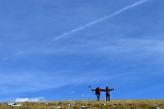 Walking under the sky (Davidrr82) Tags: trekking italia rocca abruzzo calascio