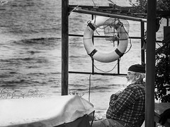 Relax.. (Frank Perrucci) Tags: old sea italy beard boat fisherman sailing liguria