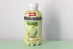 Mller Mllermilch Saison Typ Weie Schoko Pistazie (Like_the_Grand_Canyon) Tags: milk drink milch getrnk