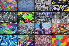 Mosaic #2  Street art / Graffiti (HBA_JIJO) Tags: urban streetart paris france color art wall painting graffiti mosaic letters spray peinture montage writer mur bagnolet mosaque pantin vitry ivry calligraffiti ivrysurseine vitrysurseine paris94 hbajijo paris93