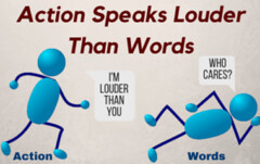 Take Action Because Action Speaks Louder Than Words (lieforly14319) Tags: blogger aruna kumar