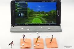 Golfsimulator (bs1ffm) Tags: golf toys preiser minifigures littepeople toyphotography h0 miniaturen tabletopphotography h0figuren modelleisenbahnfiguren toyfotographie