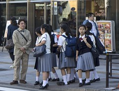 DSC00366_ep (Eric.Parker) Tags: park students japan tokyo ueno teacher 2016