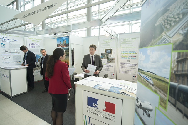 French Ministry of Environment stand