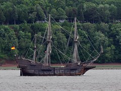 Galeon Andelucia (Jacques Trempe 2,320K hits - Merci-Thanks) Tags: canada museum river ship quebec stlawrence stlaurent fleuve navire galeon stefoy andelucia