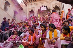 Barsana Nandgaon Lathmar Holi Low res (20 of 136) (Sanjukta Basu) Tags: holi festivalofcolour india lathmarholi barsana nandgaon radhakrishna colours