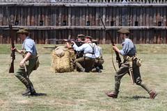 Fort George in the Great War (jmaxtours) Tags: ontario infantry training wwi worldwarone soldiers reenactment niagaraonthelake niagarafallsontario thegreatwar