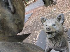 Hachiko V (Douguerreotype) Tags: city friends dog art statue japan tokyo memorial