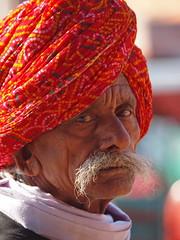 Jaipur - Man (sharko333) Tags: voyage street travel portrait india man asia asien asie indien jaipur rajasthan reise