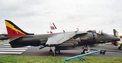 ZG532 (EI-AMD Photos) Tags: old uk fab airport force photos aviation air royal systems airshow 1992 bae farnborough harrier gr7 eglf eiamd zg532