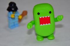 Beckoned! (WindUpDucks) Tags: bear green dark star force lego teddy side darth domo wars vader sleepyhead qee