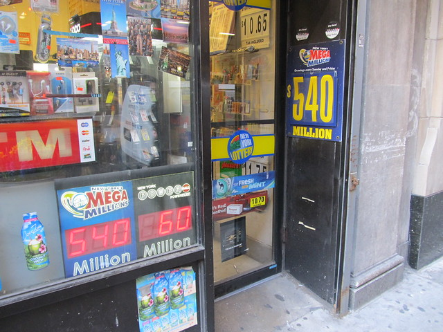 A few hours from now, the Mega Millions jackpot would go up by another $100,000,000 (03/30/12) (IMG_7401)