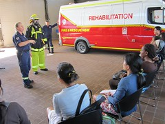 CCCC fire station (28) (coffscollege) Tags: coffsharbour migrants cccc coffscollege culturalcafe