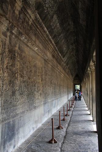 回廊-Angkor Wat