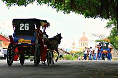 La Calzada (davecurry8) Tags: kids carriage granadanicaragua lacalzada