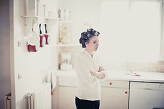 Waiting to exhale... (mattguegan) Tags: wedding bride mariage preparation prparatifs marie