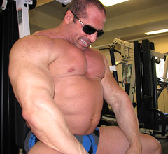 tony_maxim_dons_gym_march ,290#! (TonyMaximMuscles) Tags: man pecs leather pose gut worship arms legs muscle chest tony belly massive maxim oil huge offseason speedo bodybuilder flex biceps bulge enormous roid quads steroid calfs