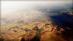 Quisiera ser pjaro...y sentir la libertad (kishira) Tags: lake bird plane libertad fly sweden aircraft paisaje lagos avin aire suecia volar