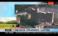 Bye Bye Building! (Jens Rost) Tags: explosion demolition highrise rødovre roedovre rodovre nedrivning højhuse