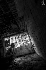 """"""" THE STHINKER """" (TwigsandClouds) Tags: wedding blackandwhite bw white house black abandoned home window face dark nude dead design nikon couple shoot mask skin decay events think philippines wideangle tokina1224 eerie tokina tc rosario noface birthdays conceptual cinematic gen derelict demolished debut 1224 pixelated chino jei stink pixelize urbex nochi respirator photogaphy d90 prenup prenuptial sardea photocrappy nochiphotocrappy nochi2009 nochisardea chinosardea jinayon twigsandclouds jeijinayon gensardea lierdak whensilenceisyourfriend"""