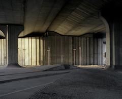Under the northern freeway (Philippe Yong) Tags: 120 mamiya film analog mediumformat fuji rangefinder suburbs a1 analogue 6x7 80mm mamiya7ii moyenformat pro400h 7ii underthenorthernfreeway philippeyong wwwpyphotographyfr