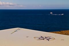 Traveling (Andrea LD) Tags: blue sea macro clouds canon boats eos dc nuvole mare rosa sigma os barche 7d 1770 dei venti hsm f284