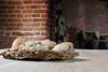 Tudor Rolls (RJP_Blob) Tags: bread table suffolk dof bricks tudor rolls mold mould wicker kentwellhall 16thcentury tudors 550d