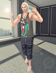 Relax. (Rgd Svg) Tags: male men art fashion shirt hair beard photography fly blog belt cool artwork graphics shoes avatar style blogger avi fresh tattoos clothes sl secondlife mens trend dope gangsta swag hunt appearance dura tats jcruz nanuk entente styleblog applespice moh2 juliancruz lookoftheday americanbazaar menonlyhunt jcruzandlvl