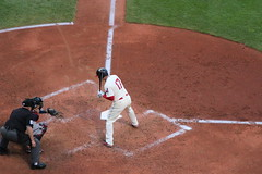 Shin-Soo Choo RF #17 Cleveland Indians (Sports Crazy) Tags: baseball clevelandindians mlb clevelandoh minnesotatwins americanleague shinsoochoo progressivefield canont3i