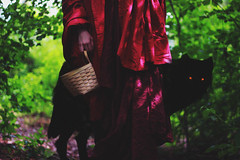 Red Riding and the Wolf FINAL (MikeSuchmann) Tags: red mystery fairytale forest canon wolf dress riding teen fairy fantasy hood tale redridinghood