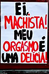Cartaz Marcha das Vadias em Maringá, Paraná (Gary Azevedo) Tags: paraná machismo orgasmo delicia 2012 maringá vidaonline marchadasvadias garyazevedo