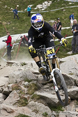 Gee (DMeadows) Tags: world mountain cup bike bicycle race photography scotland team rocks offroad suspension fort stones wheels helmet goggles rocky competition william downhill course full hills professional trail event management gloves mtb jersey 12 gt gee hillside forks range rare sponsors mor tyre 2012 uci nevis atherton aonach round3 donttrythisathomekids fullsus davidmeadows dmeadows theseshotsdontdothespeedtheseridersweredoingjustice