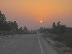 IMG_0804 (Tarun Chopra) Tags: sunset punjab gurgaon s100 canonpointandshoot canonpowershots100 wideroads