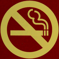 No smoking (Leo Reynolds) Tags: sign canon eos iso800 7d squaredcircle f56 120mm signsafety signno sqlondon 0006sec hpexif signnosmoking signcirclebar xleol30x sqset081