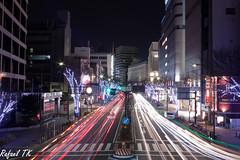 Yaba-cho - Nagoya (rafael_tsunami) Tags: nightshot citylights nagoya lighttrails nightscene