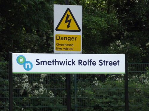 Smethwick Rolfe Street Station - sign