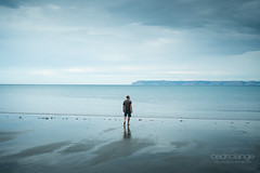 Standstill (Cedpics) Tags: ocean sea seascape beach nature water creek freedom bay sand eau sable serenity nz blenheim marlborough plage ourocean thephotographyblog