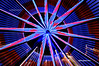 Ferris Wheel Abstract (Jeff Wignall) Tags: nightphotography carnival light motion color night timeexposure ferriswheel