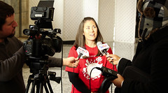 Trisha Sheehan-SaferAlternativestoToxicChemicals-NewarkNJpressconf-Feb2014-1