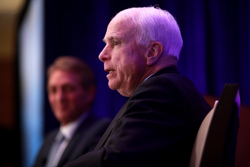 From flickr.com: John McCain & Jeff Flake {MID-144868}