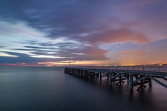 Last light at the pier (A Crowe Photography) Tags: longexposure wales night astrophotography nightsky northwales trefor nighttimephotography longexposurephotography welshlandscape welshflickrcymru welshphotographer welshphotography northwalesdailypost flickrunitedaward